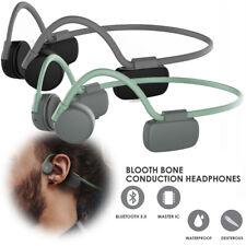 Bone Conduction Headphones Bluetooth Earpiece Waterproof for iPhone Samsung LG