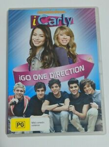 iCarly iGo One Direction DVD R4 Australian Release