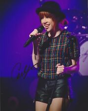Carly Rae Jepson HAND SIGNED 8x10 Photo, Autograph, Call Me Maybe Kiss, Emotions