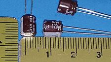 Capacitor, 120UF,  6.3V Panasonic, LXF6.3VB121M6X7LL (1000 pcs Mfr Box)