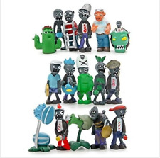 Game Plants Vs Zombies 16 pcs Action Role Figures Gen 2 Series PVC Toys Kid Gift