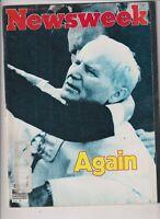 Newsweek Mag Lebanon Francois Mitterrand May 25, 1981 103019nonr