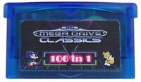 106 in 1 Multi Cart for Gameboy Advance GBA Master System Classics FREE SHIPPING