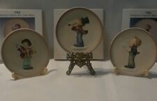 Goebel Mj Hummel Miniature Collector Plates 4 in 1984 1985 1986