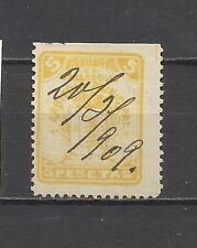 926-SELLO CLASICO FISCAL 1899 LOCAL SPAIN REVENUE 5 PTS