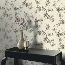 NEW ARTHOUSE OPERA CHINOISE FLORAL PATTERN SONGBIRD FLOWER MOTIF WALLPAPER ROLL
