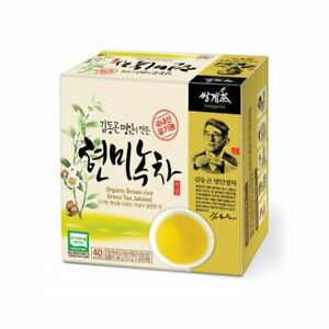 Korea Brown Rice Green Tea 40 Tea bags Korean Natural Tea