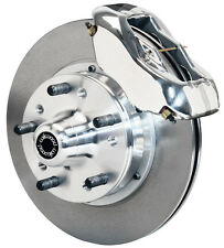 "WILWOOD DISC BRAKE KIT,FRONT,53-62 CORVETTE,11"" ROTORS,POLISHED CALIPERS"