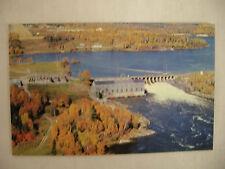 VINTAGE POSTCARD EAR FALLS POWER PLANT RED LAKE ONT. CANADA MITCHELLS PHARMACY