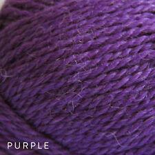 10 x 50g Balls - Patons Jet 12ply Wool Alpaca - Purple #828 - $52.50 A Bargain