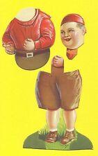 Our Gang Joe Cobb  Vintage 1930s Die Cut Chocolate Card Spain - Complete Figure