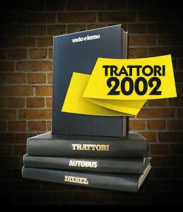 Rivista TRATTORI rilegata 2002