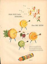 1947 LifeSavers Bow and Arrow Archery Theme PRINT AD
