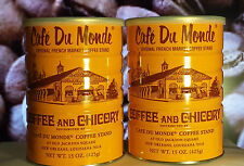 24 X CAN OF Café Du Monde Coffee and Chicory (15 OZ EACH CAN)