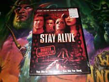 STAY ALIVE DVD UNRATED DIRECTOR'S CUT BRAND NEW SEALED FRANKIE MUNIZ!