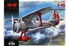 ICM 72062 1/72 I-15 Soviet Biplane Fighter