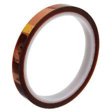 10mm 100ft BGA High Temperature Heat Resistant Polyimide Gold Kapton Tape ASS