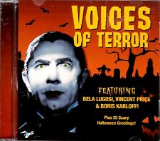 VOICES OF TERROR CLASSIC HALLOWEEN HORROR MOVIE LINES, SOUND EFFECTS & GREETINGS