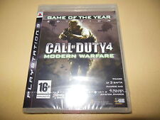 Call of Duty 4 Modern Warfare GOTY EDITION ** Nuovo e Sigillato ** PS3