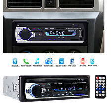 Car Stereo Audio Radio Player In-Dash FM Aux Input Receiver SD/USB MP3Bluetooth