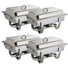 Chafing dish buffet più CALDO OLYMPIA Set MILAN pacco 4er + 4 kg innaffiato Top
