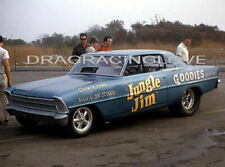"""Jungle Jim"" Liberman 1966 Chevy Nova NITRO Funny Car PHOTO!"