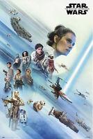 Star Wars - Episode IX - La Resistencia - Poster Plakat Größe 61x91,5cm