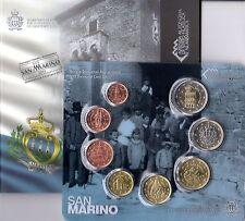 Divisionale monete Euro 1c>2€ FDC Repubblica San Marino 2013