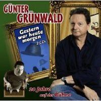"""GÜNTER GRÜNWALD """"GESTERN WAR HEUTE MORGEN"""" CD NEU"""