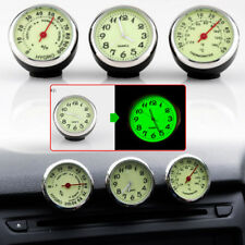 Green Dial Car Dashboard luminous Quartz Digital Clock Thermometer Hygrometer