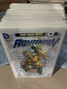 Aquaman The New 52 Issues 1 - 52 Includes Issue 0 Complete Run DC Annuals 1 & 2