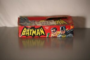 1966 BATMAN (2ND SERIES) 5cent CARD DISPLAY BOX TOPPS WAX Trading Card