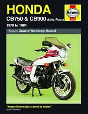 HAYNES SERVICE REPAIR MANUAL HONDA CB900F 1979-1984 CB900F2 1981-1984 SUPERSPORT