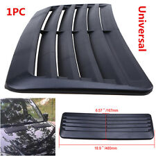 Universal Auto Car Decorative Air Flow Intake Scoop Turbo Bonnet Vent Cover Hood