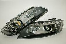 AUDI Q7 2009- Bi-Xenon HeadLights DRL LED Front Lamps PAIR LH + RH