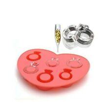 Novelty Ice Ring Maker Silicone Ice Cube Tray