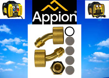 Appion Recovery Unit G5twin G1single Angled Inlet Fitting Retrofit Kit Ktf645