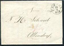 Cassel 1843 lettera secondo tutte le villaggio (j3924