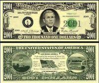Variety Set of 120 Poker Play Money Dollar Bills Casino Fun Money Novelty Notes