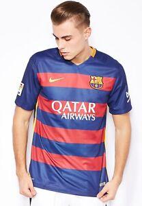 Barcelona Jersey 2015 2016 Home Size XL Shirt Soccer Nike 658794-422 Dri-Fit SS