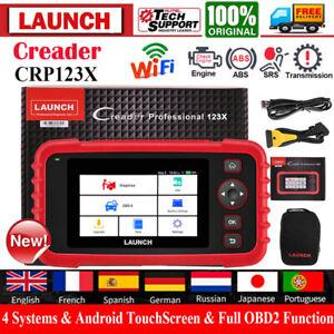2021 Launch CRP123X OBD2 Diagnóstico Escáner Herramientas Wifi ABS SRS