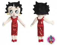 OFFICIAL BETTY BOOP RED DRESS 24CM SOFT PLUSH SOFT TOY NEW WITH TAGS