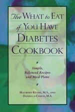 The What To Eat If You Have Diabetes Cookbook-ExLibrary