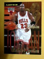 1995-96 Fleer Firm Foundation Michael Jordan #323 Chicago Bulls HOF