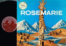 ROSEMARIE CAST LP New World Show Orch Johnny Douglas WORLD RECORD CLUB SLMP16 Ex