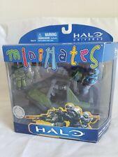 2001 New TRU MiniMates Halo M12 FAV Warthog w M41 LAAG & Noble Team Kat Carter