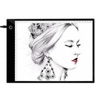 A4 Digital Graphics Tablet LED Drawing Board Light Box Tracing Copy Pad Notepad