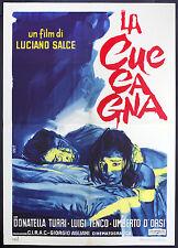 CINEMA-manifesto LA CUCCAGNA turri, luigi tenco, d'orsi, SALCE