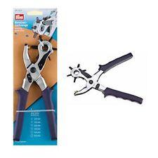 PINZA Rotante per fori buchi varie misure su pelle tessuto e cinture Prym 390905