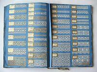 ANCIEN CATALOGUE D'ÉCHANTILLONS DE DENTELLES & BRODERIES FINES . DÉBUT XXe